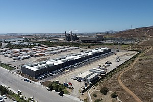 Photo for 'Largest Battery Storage Project In The World' Unveiled In East Otay Mesa