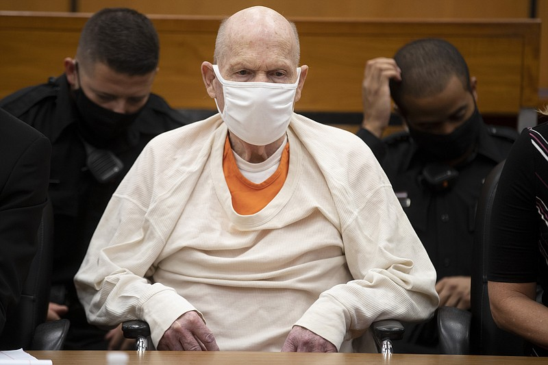 Joseph James DeAngelo sits in court during the third day of victim impact sta...