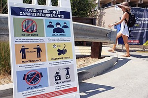 Photo for UCSD Standing Firm On Ambitious Reopening Plan Despite Outbreaks On Other Cam...