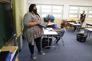 Photo for Reopening Elementary Schools Carries Less COVID-19 Risk Than High Schools — B...