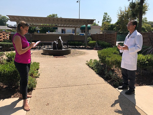 KPBS Health Reporter Tarryn Mento speaks with Kaiser Perm...