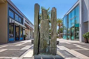 Photo for Beverly Pepper Sculptures Now On Display At UTC Shopping Mall