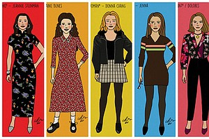 Photo for San Diego Artist Is Drawing Every Single Seinfeld Girlfriend
