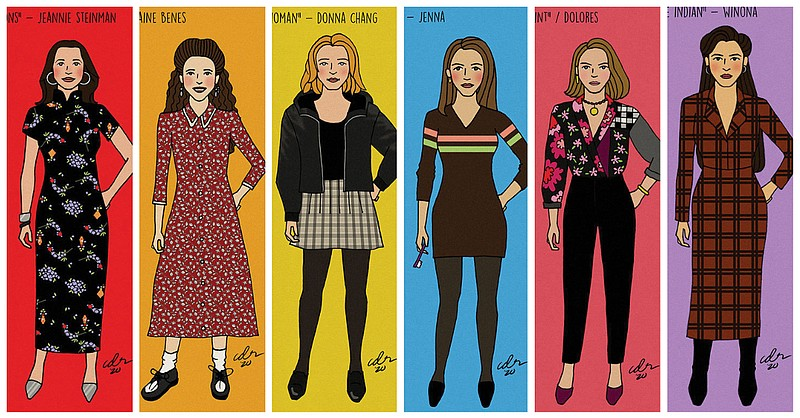 Artist Carolyn Ramos is drawing every single woman Jerry Seinfeld dated in th...