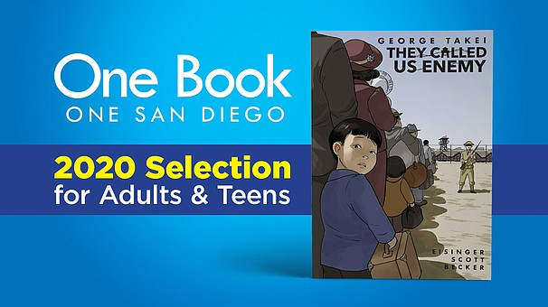 2020 One Book, One San Diego selection for Adults and Teens: