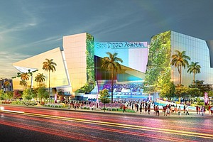 Photo for San Diego Mayor Announces Winning Developer To Build New Sports Arena