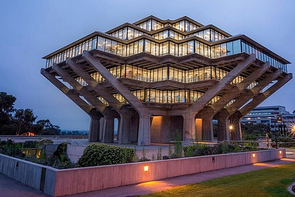 UC San Diego Geisel Library, located at 9500 Gilman Drive #0175-G, La Jolla, ...