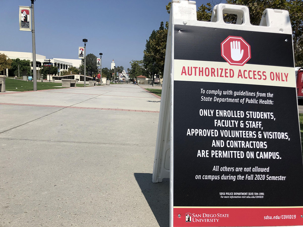 Roundtable: SDSU Sees Spike In COVID-19 Cases