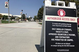 Photo for SDSU Ramps Up Testing, Makes Tests Mandatory For Students Living On Campus