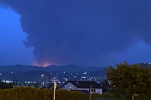 Photo for 1,500-Acre Brushfire Burns In Japatul Valley Area