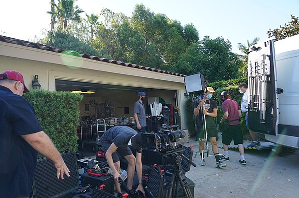 What film production in San Diego looks like during the p...
