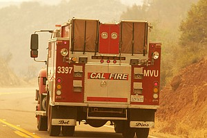Photo for Strong Winds, Low Humidity Raise Risk Of Wildfires In San Diego County