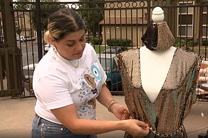 Photo for Iraqi Refugee Turned Designer Previews Mask Fashion Show And Giveaway