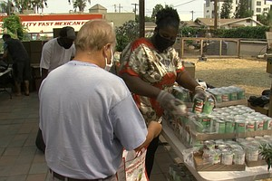 Photo for Collaborative Effort Brings Food To People In Need In North Park