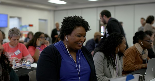 Stacey Abrams was one of the producers for the Amazon doc...
