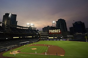 Photo for Padres Announce Increase In Petco Park Crowds To 33% Of Capacity