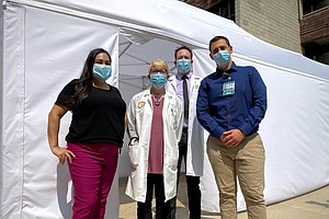 Photo for UC San Diego Kicks Off Testing In First Of Kind Outpatient Worldwide COVID-19...