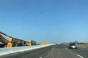 Photo for Caltrans Working To Smooth Out Part Of State Route 52