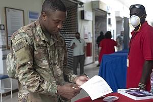 Photo for Military, Overseas Voters' Ballots Sent As Voting Gets Underway