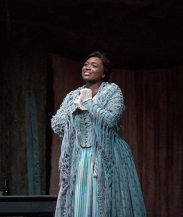 Angel Blue as Mimì in the Metropolitan Opera's October 20...