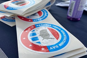 On National Voter Registration Day, San Diegans Gear Up For November