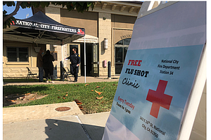 To Head Off Twin Pandemic, National City Offers Free Flu Shots