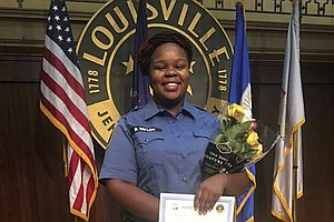 Photo for Police Officers Not Charged For Killing Breonna Taylor