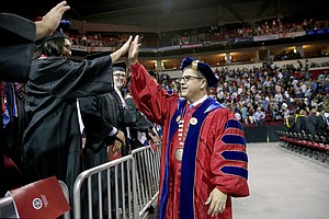 Photo for California State University Picks Mexican-American As leader