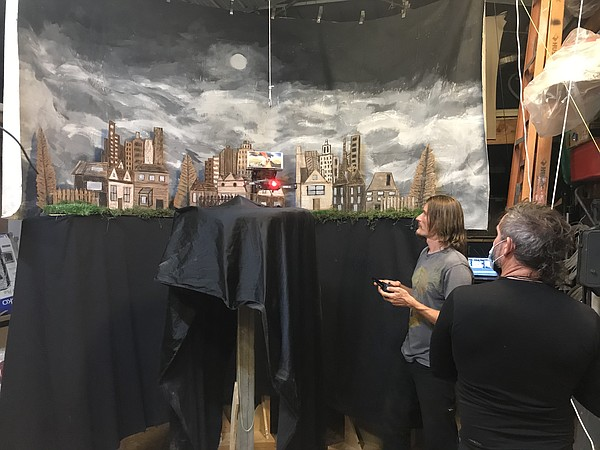 A behind the scenes look at creating