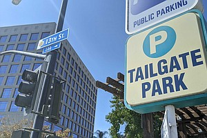 Photo for Faulconer Says Padres Are Winner of Tailgate Park Development