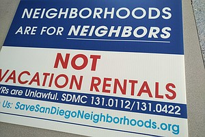 Airbnb, Hosts Oppose San Diego's Short-Term Rental Deal