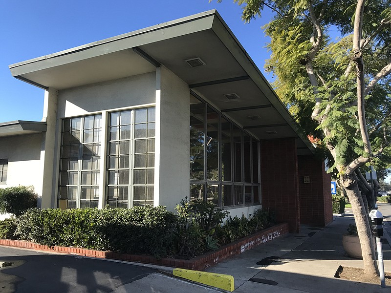 The vacant Mission Hills Branch Library is seen here, Jan. 10, 2020.