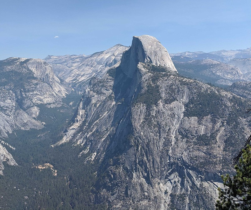 Half Dome is pictured in Yosemite, Calif. in Sept. 2020.