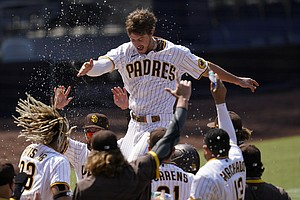 Photo for Myers Enjoying Bounceback Season With Playoff-Bound Padres