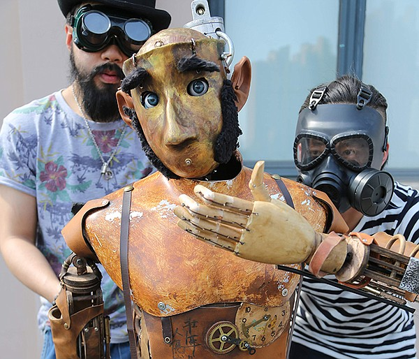 Puppeteers. When artist Maleonn realizes that his father ...