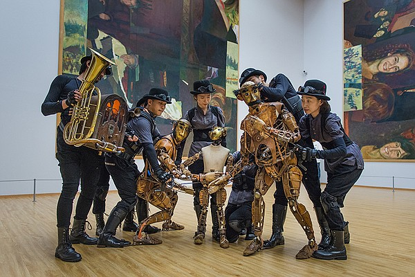 Group with puppets. When artist Maleonn realizes that his...