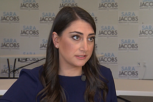 Photo for San Diego Democratic Party — Again — Accuses Sara Jacobs Of 'Misleading' Stat...