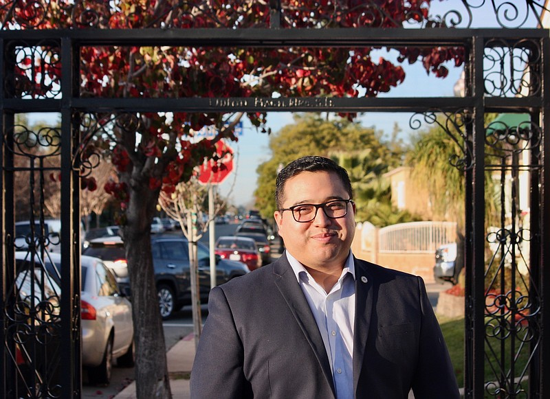 City Council candidate Kelvin Barrios in this undated campaign photo.
