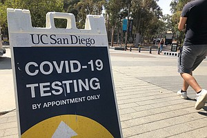 Photo for COVID-19 Cases Drop At UC San Diego After Post-Holiday Surge