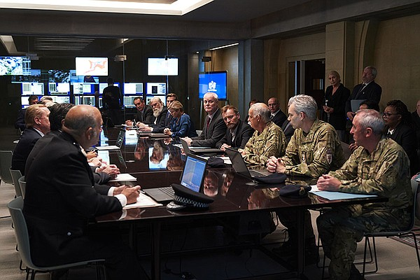 Military meeting, a scene from COBRA.