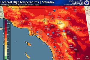 Photo for Warmer Weather Expected Saturday In San Diego County