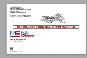 Photo for Registrar Encourages Mail-In Voting As Ballots Head To 1.9 Million Registered...