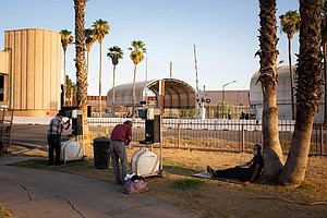 Photo for Hard Lives Made Harder By COVID-19: California's Homeless Endure A 'Slow-Movi...