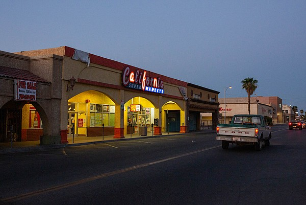 Calexico's quiet downtown has emptied out amid California...