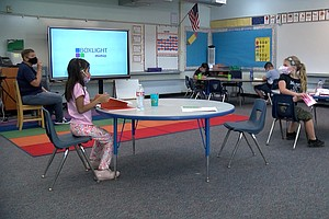 Gov. Newsom Signs Law Aimed At Putting Kids In Class