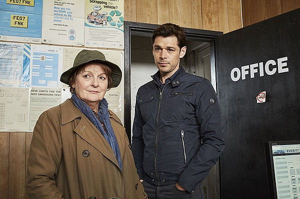 DCI Vera Stanhope (Brenda Blethyn) and Detective Sergeant...