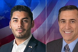 Photo for 50th Congressional Race: Republican Darrell Issa Vs. Democrat Ammar Campa-Najjar