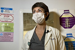 Photo for San Diego County Monitors Hospital Capacity But Not Everyone Agrees How To Tr...