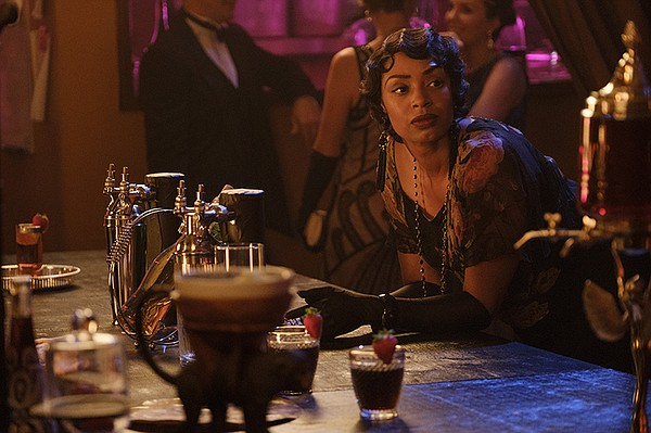 Chantel Riley as Trudy in a scene from