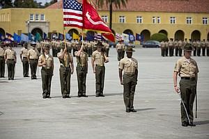 Closing Marine Boot Camp In San Diego Is One Option Being Studied By USMC